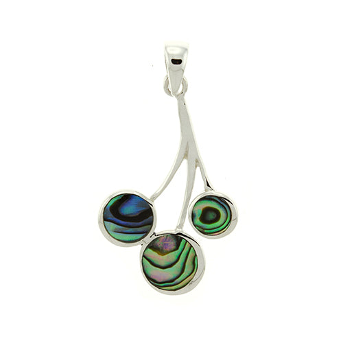 Abalone Water Drop Pendant