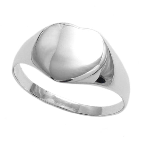 Kids Heart Signet Ring