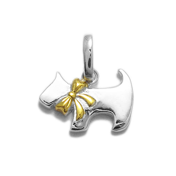Gold Vermeil Scotty Dog Pendant