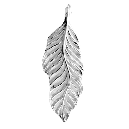 Large Leaf Slide Pendant