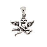 Antique Cupid Pendant