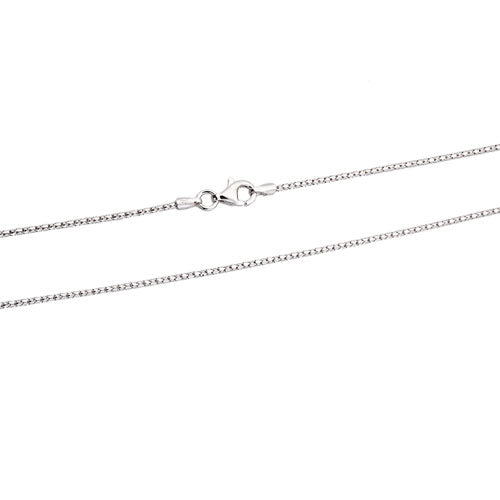 Rhodium 1.2mm Coreana Chain