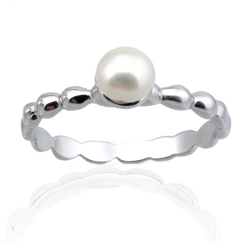 4mm Pearl Ring