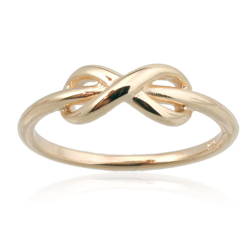 Gold Vermeil Infinity Ring
