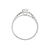 5mm CZ Round Ring