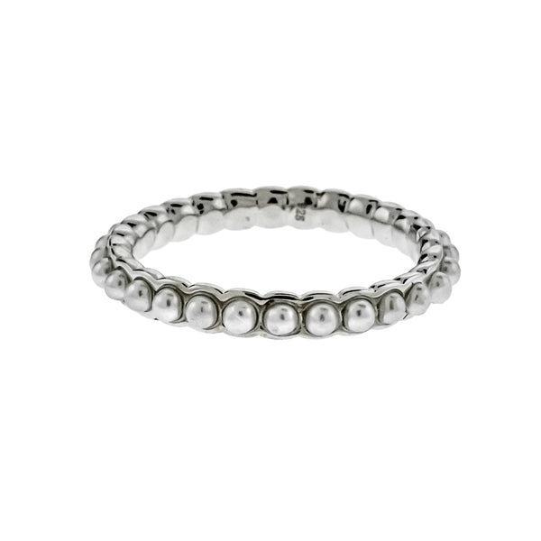 Silver Pearl Band