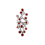 Red Coral Branch Ring