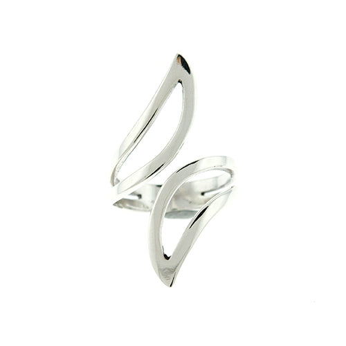 Curved Open Wrap Ring