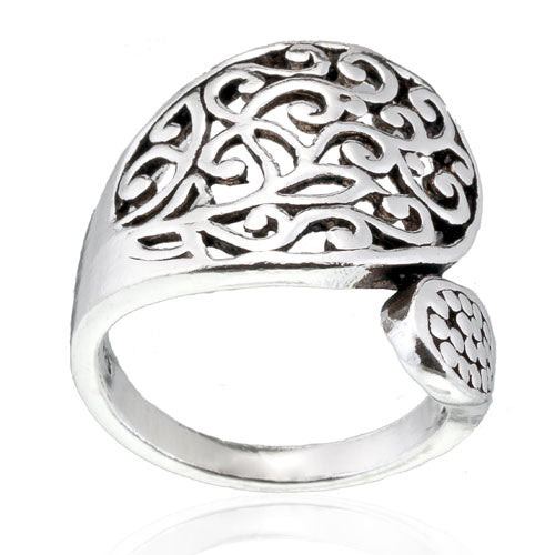 Filigree Spoon Ring