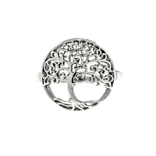 Antique Tree of Life Ring