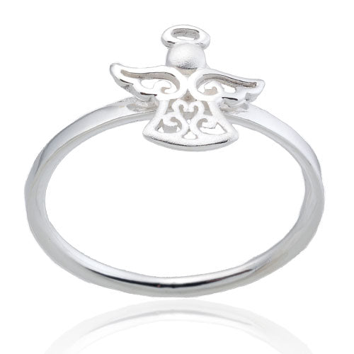 Filigree Angel Ring