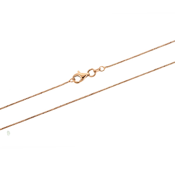 Rose Gold DC Snake Brite 020 Chain
