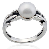 8mm Antique Freshwater Pearl Ring