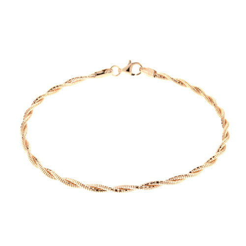 Rose Gold 6mm Spring Chain