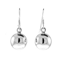 Ball Fish Hook Earrings
