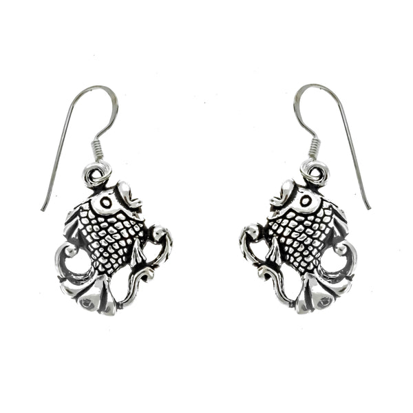 Antique Fish Earrings