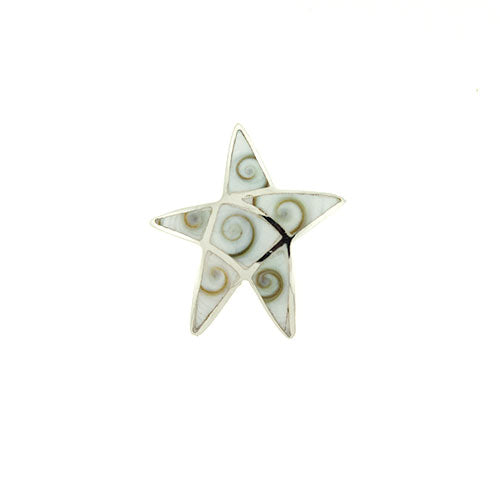 Conch Shell Starfish Pendant