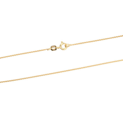 1mm Gold Vermeil Rolo 020 Chain