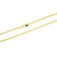 3mm Gold Vermeil Rolo 040 Chain