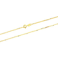 Gold Vermeil DC Rolo Edge 040 Chain