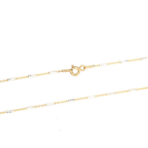 Gold Vermeil Tube Chain