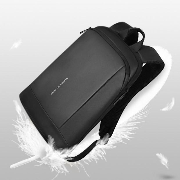 Mark Ryden super lightweight and waterproof USB charging backpack.