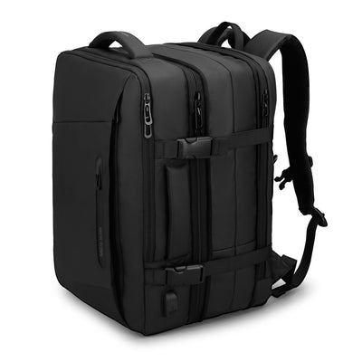 Expanded view of Mark Ryden Infinity XL Rain usb charging business / travel backpack with rain cloak.