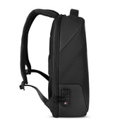 Side view of Mark Ryden Limit anti-theft usb charging backpack.