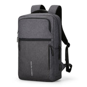 Parallel laptop backpack