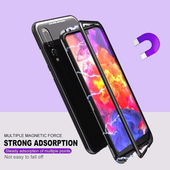 Magnetic Adsorption Phone Case for Huawei P20/ P20  Pro/P20 Lite/P10/P10 Plus