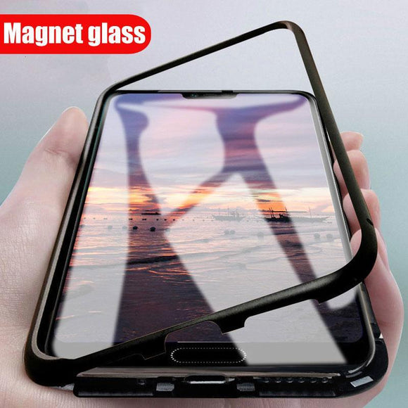 Magnetic Adsorption Phone Case For Samsung C7 Pro/C9 Pro