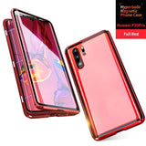 Luxury Hyperboloid Upgraded Version Magnetic Case Two Side Glass Cover For Huawei P30 Pro