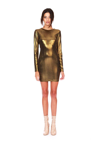 Bertie Dress - Bronze