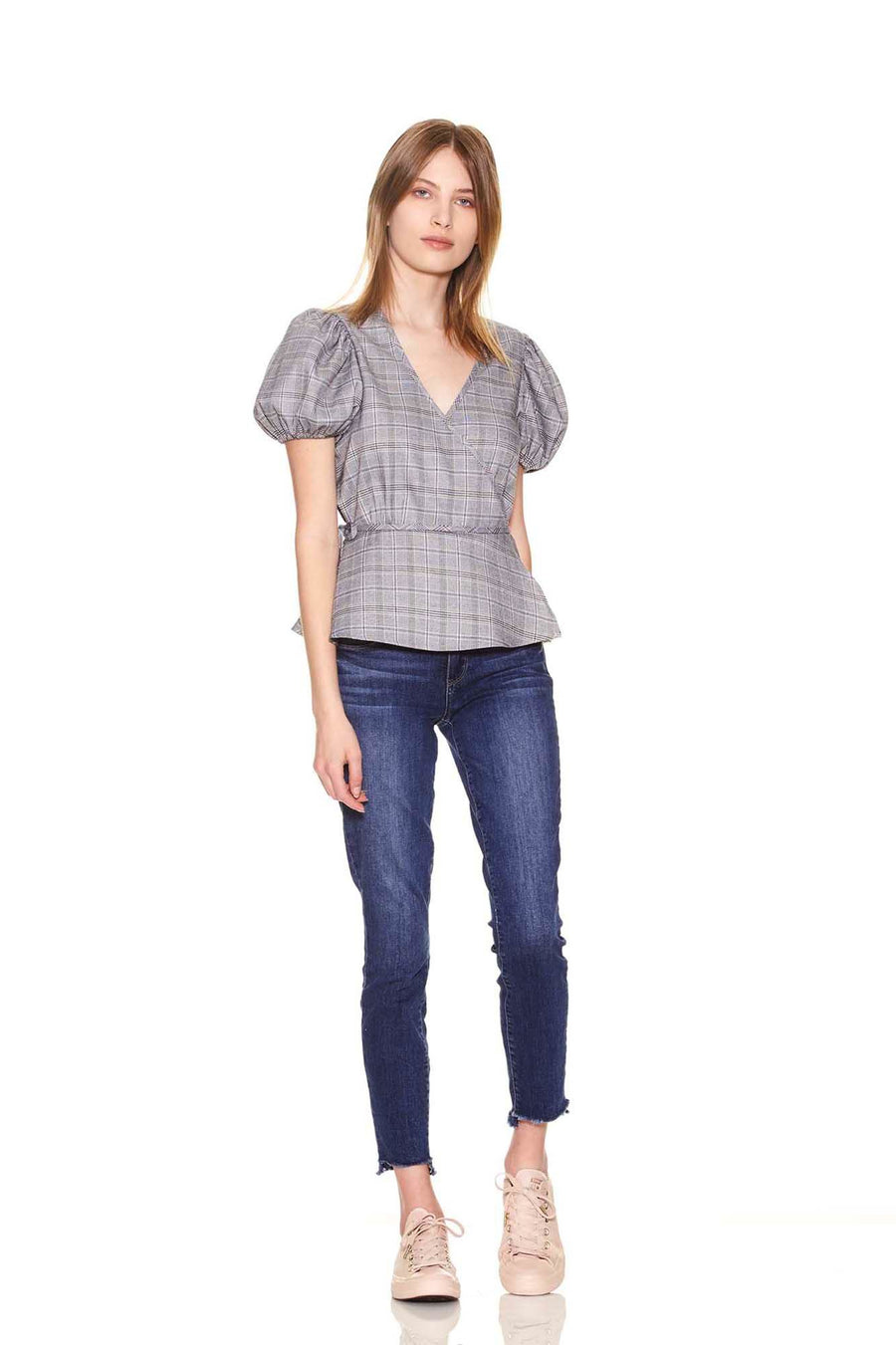 Eva Top - Plaid