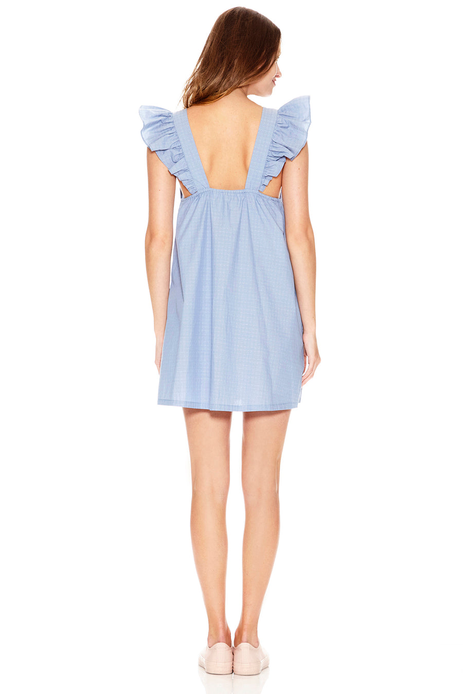 Evelyn Dress - Bleu