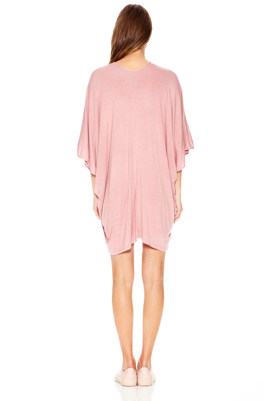Lola Kaftan Mini - Dusty Rose