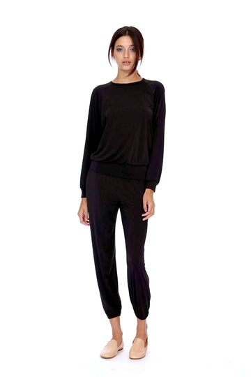 Sami Top - Black Slinky