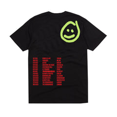 SMILEY EU 2018 TOUR BLACK T-SHIRT