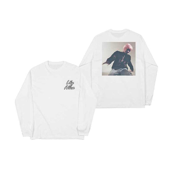 LA NO SHAME WHITE L/SLEEVE T-SHIRT