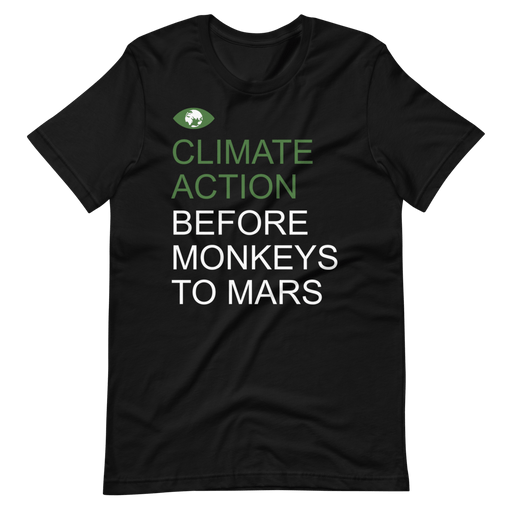 Climate Action Before Monkeys to Mars from makusudi and Kevue.com