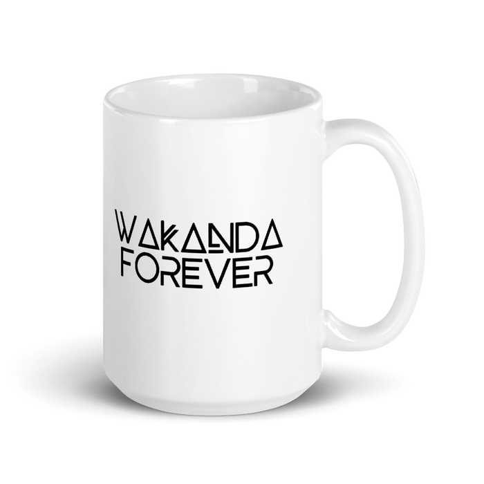 Wakanda Forever Mug from makusudi and Kevue.com