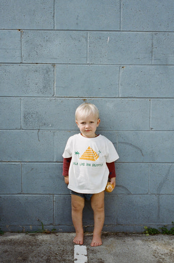 The Egypt Tee 'Walk like an Egyptian' - KIDS