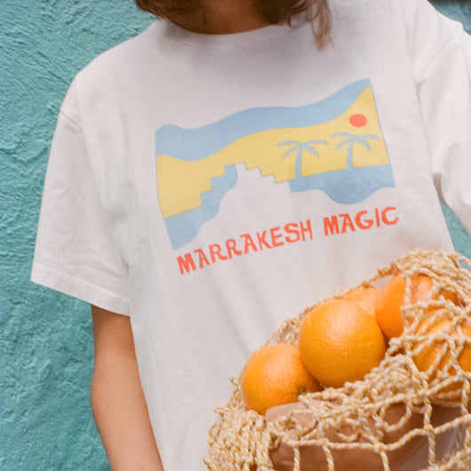 The Morocco Tee 'Marrakech Magic' ADULTS