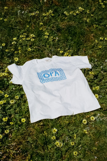 The Greek Tee 'OPA!' ADULTS