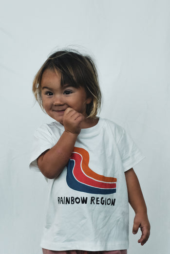 The Byron Bay Tee 'The Rainbow Region'