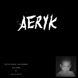 Aeryk Williams Catalogue Raisonne Vol. V I