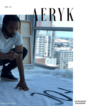 Aeryk Williams Catalogue Raisonné Vol .IX Pre-Order - Aeryk Studio