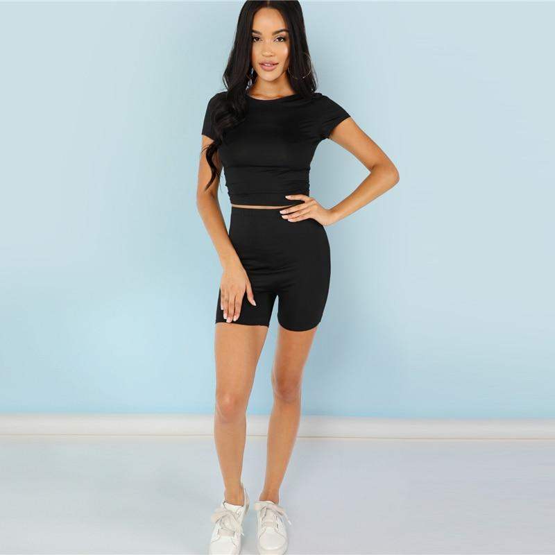Muse High Waist Short Leggings