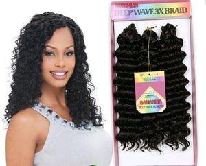 Deep Wave 3X Braid 10""