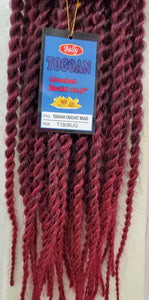 Togoan Crochet Braid 22.5""